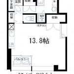 203号室間取り(間取)