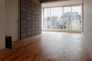 洗足,開放感のあるワンルームのデザイン空間【賃貸/SOHO】