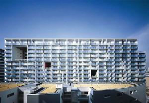 東京湾岸の近未来型デザイナーズ団地【賃貸】