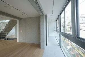 眺望抜群の広い専用スカイテラスのある新築デザイナーズ3LDKプラン【賃貸/SOHO/オフィス/ペット】
