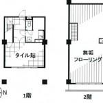 麻布スカイマンション102_間取り(間取)