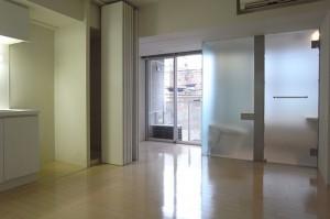 麻布十番でSOHOスタイルのできるデザインワンルーム空間【賃貸/SOHO/ペット】