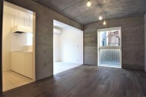 尾山台,アールの天井と2つの配色が特徴のペットに優しい新築デザイナーズ【賃貸/SOHO可/ペット可】