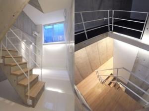 青山一丁目,地階から縦に拡がるデザイン多重空間【賃貸/SOHO可】