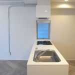 オープンキッチン(内装)