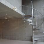 らせん階段(内装)