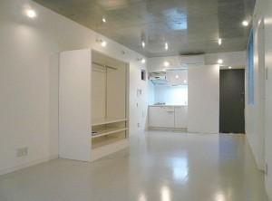 渋谷テリトリーの白いデザイナーズワンルーム空間【賃貸】