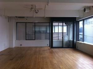 デザインリノベーションされたニューヨークのロフトのような広いワンルーム空間【賃貸/SOHO可/オフィス可】
