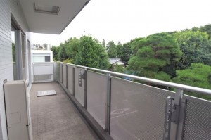 桜新町,借景が素晴らしい事務所利用可能な高級マンションの3LDKプラン(防音室付き)【賃貸/SOHO可】