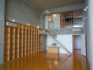 巨大な窓から眺めるレインボーブリッジ・オーシャンフロント【賃貸/SOHO可/オフィス可】