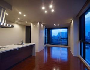 天王洲アイル,抜ける眺望とアイランドキッチンのあるオトナの隠れ家デザイナーズ【賃貸】