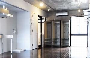 表参道,好立地の広いワンルームのデザイン空間【賃貸】