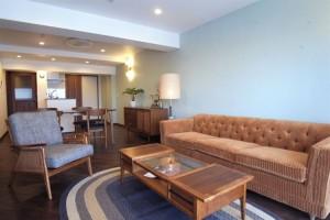 上野毛,アメリカンヴィンテージの家具とファミリーで暮らすデザインリノベーション空間【賃貸】