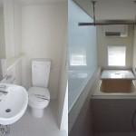 バスルーム、トイレ、洗面台(内装)