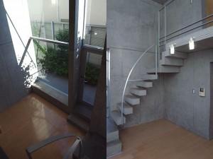 西馬込,コンクリートの重厚感の中、リーズナブルながら高い居住性のあるデザイン空間【賃貸/SOHO】