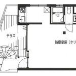 21スカイビル間取り(間取)