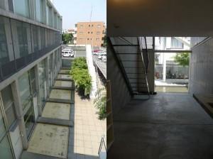 神楽坂,水盤を眺めながら過ごすスタイリッシュデザイナーズ(1-2階メゾネットプラン)【賃貸/SOHO可/オフィス可】
